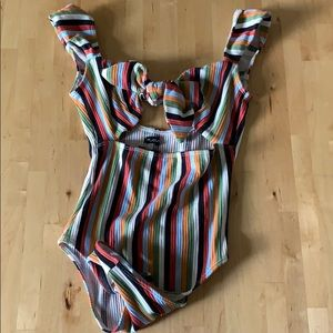 Urban Outfitters striped onesie